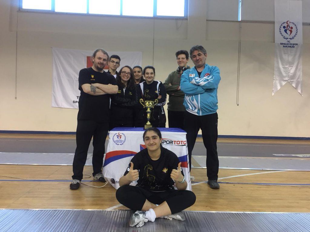 Yıldızlar Federasyon Kupası Şampiyonu Çankaya Eskrim