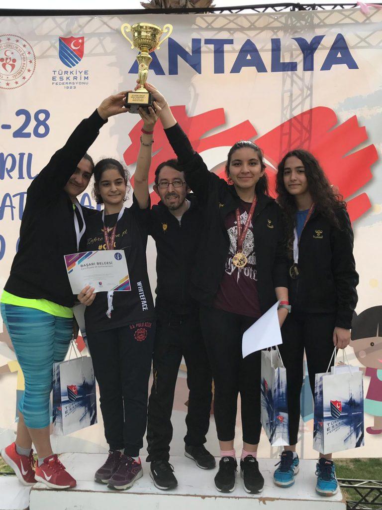 U14 Circuit Avrupa ve Uluslararası Çocuk Kupası'ndan Şampiyonlukla Dönüyoruz